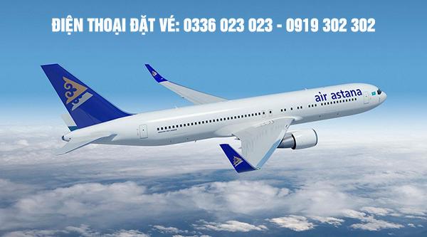 Văn phòng đại diện hãng Air Astana tại Việt Nam
