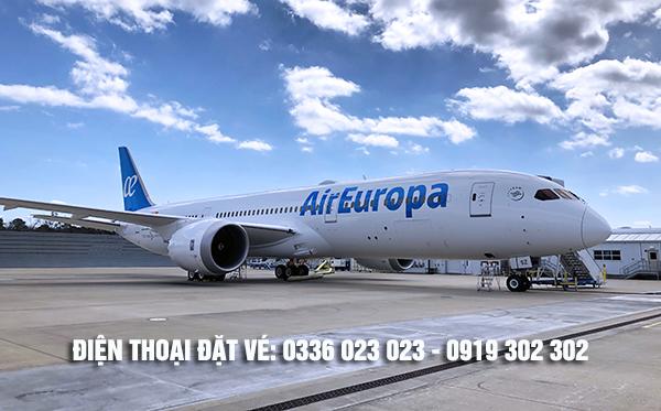 Văn phòng đại diện hãng Air Europa tại Việt Nam