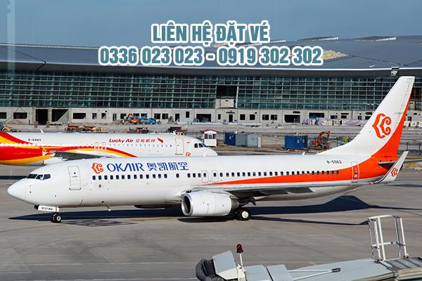 Văn phòng đại diện hãng Okay Airways tại Việt Nam