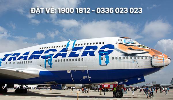 Văn phòng đại diện hãng Transaero Airlines tại Việt Nam
