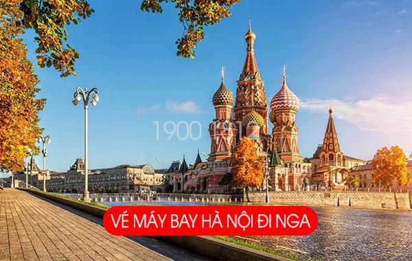 Vé máy bay Hà Nội đi Nga